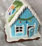 Пряничный домик к Новому году