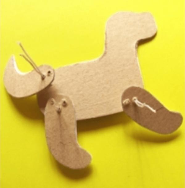 Сборка игрушки щенка