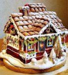 Яркий пряничный домик