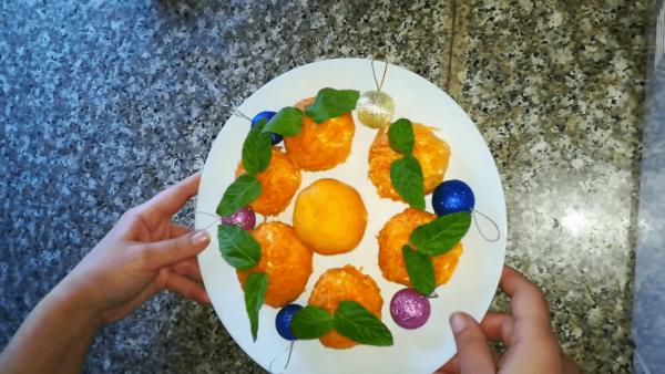 Закуска Мандарины