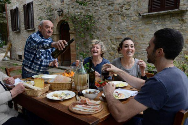 Итальянское застолье