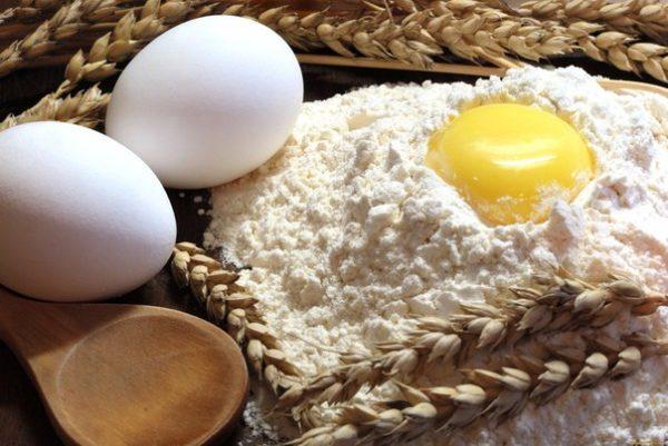 Ингредиенты для самостоятельного приготовления основы для лазаньи