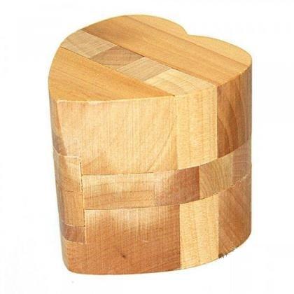 Большое деревянное сердце