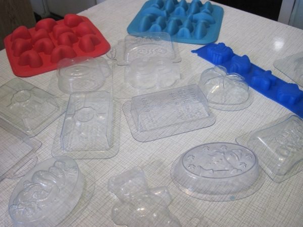 Формы для приготовления мыла