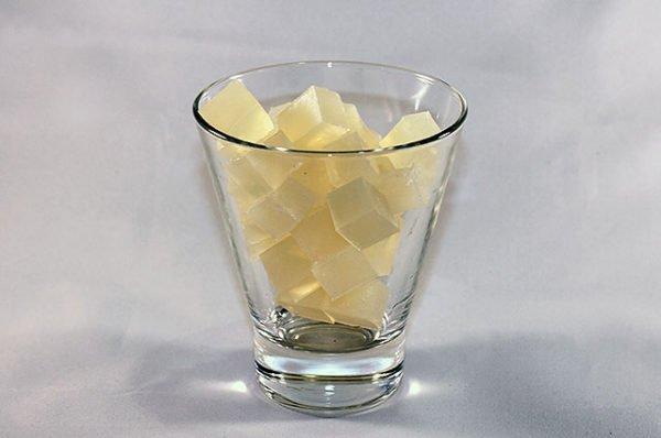 Нарезанная кубиками мыльная основа
