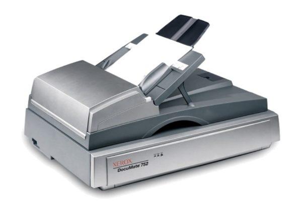 Планшетный сканер с устройством автоматической подачи листов