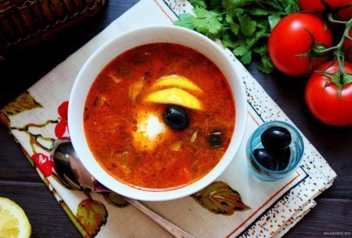 Рецепт вкусной солянки в домашних условиях Домашних 75