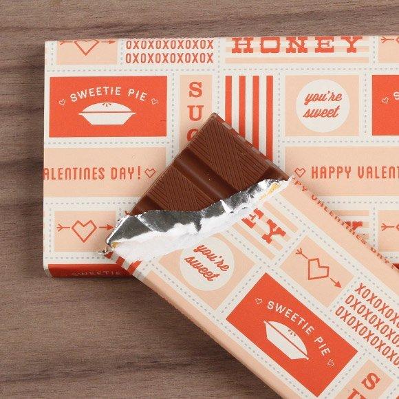 Шоколад в необычной обёртке