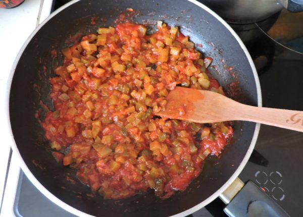 Заправка с томатом