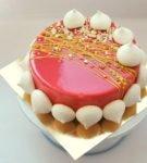 Муссовый торт с зефиром