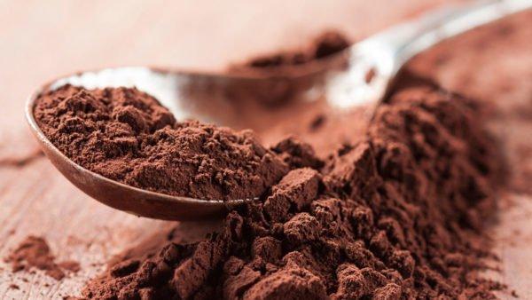 Какао в ложке