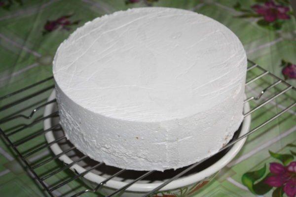 Замороженный муссовый торт