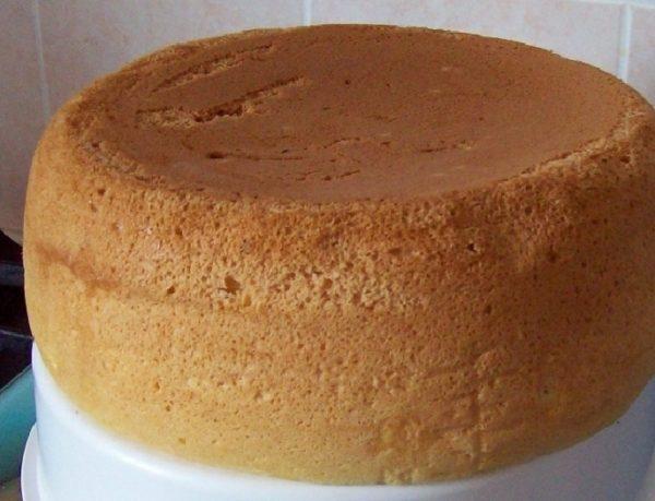 готовый бисквит на лимонаде