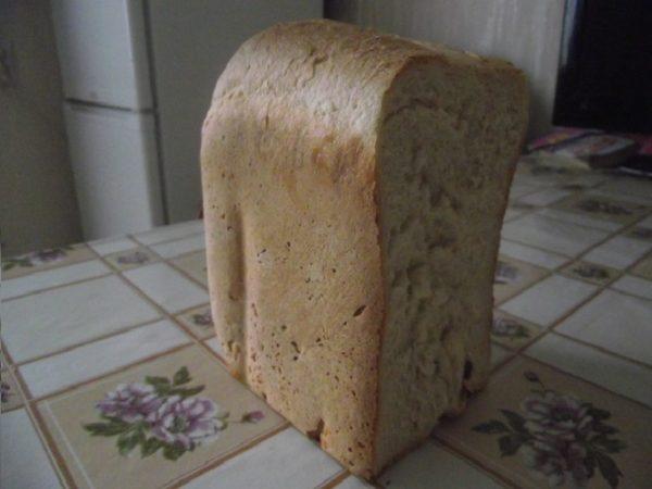 Хлеб без дрожжей на рассоле