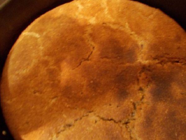 Хлеб бездрожжевой с отрубями