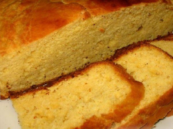Хлеб кукурузный без дрожжей