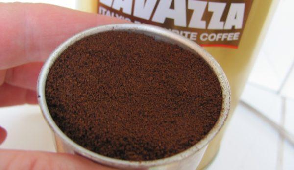фильтр с кофе