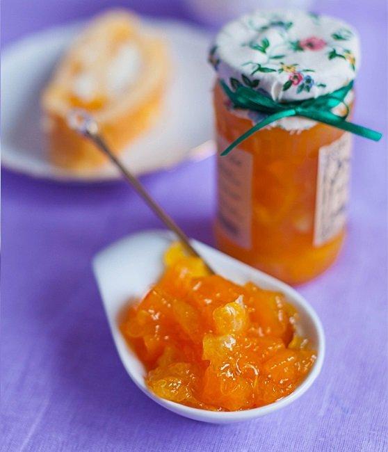 мандариново-тыквенное варенье