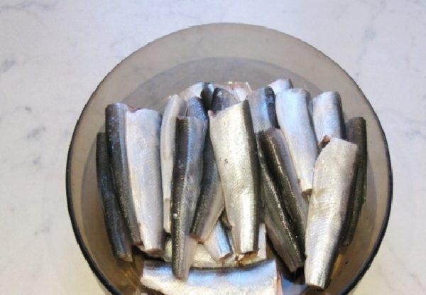 Очищенная салака