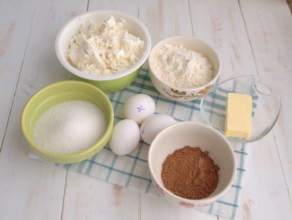 продукты для тёртого пирога с какао