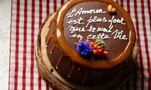 шоколад на торт