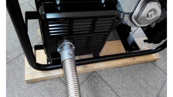Система выхлопа для генератора