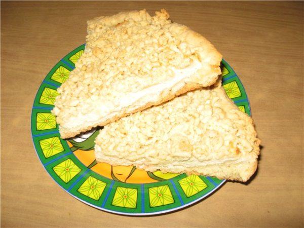 тёртый пирог в мультиварке