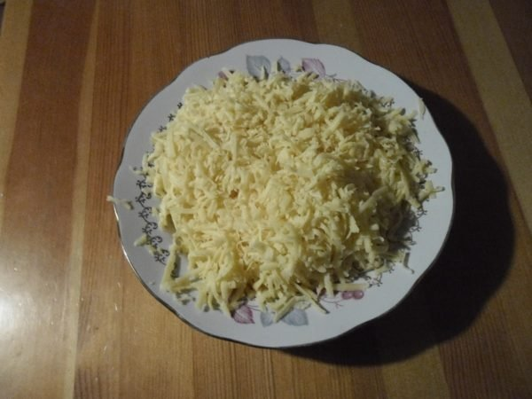 тёртый сыр