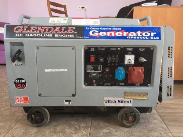 Трёхфазный бензиновый генератор