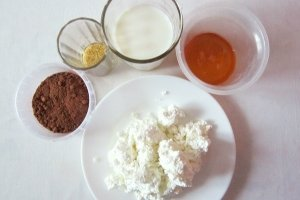 Творожно-шоколадное суфле