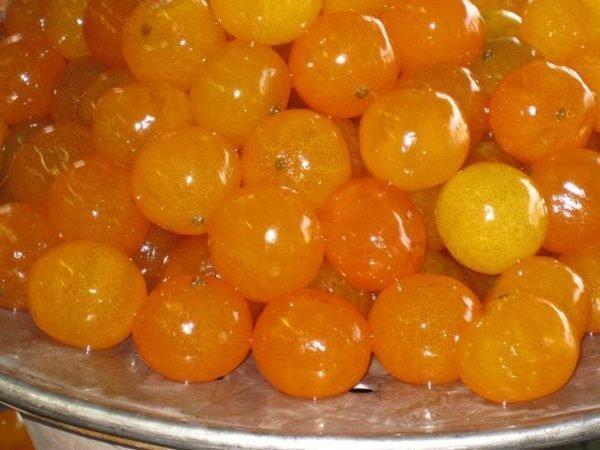 варенье из целых мандаринов в кожуре