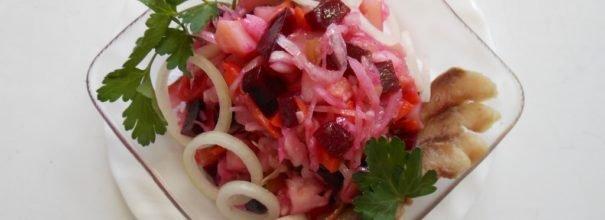 низкокалорийные рецепты салата с капустой