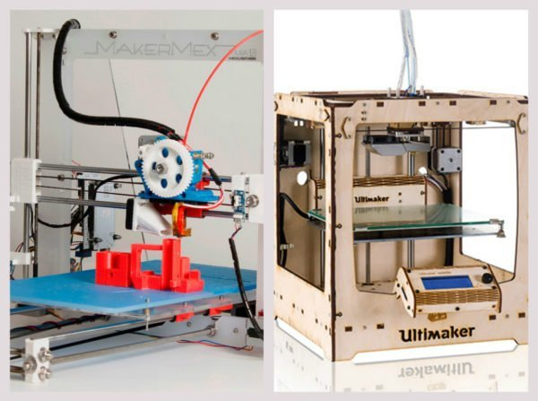 3D-принтеры с открытой и закрытой конструкцией