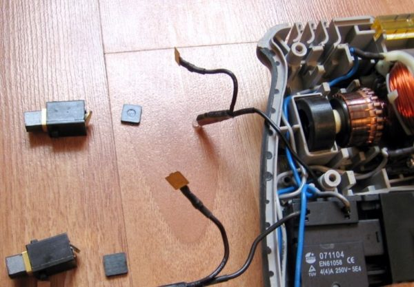 Разборка электродрели