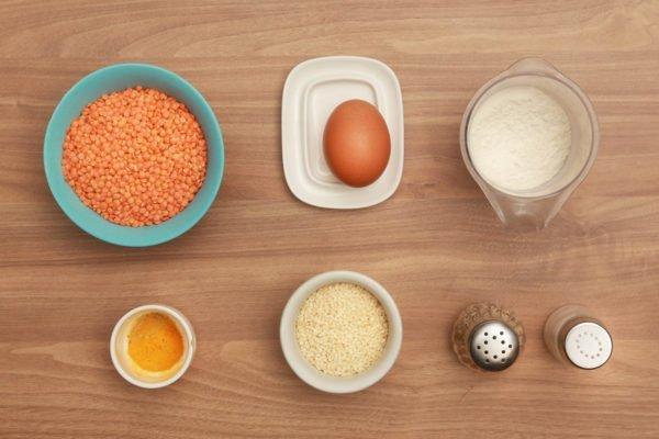 продукты для чечевичных котлет в мультиварке