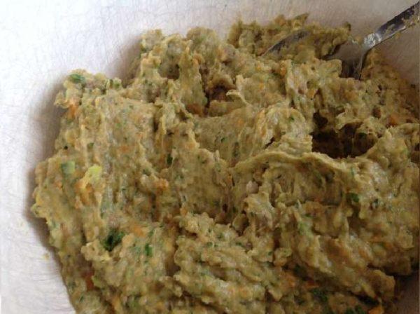 фарш из овощей и чечевицы