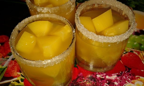 Кабачки со вкусом ананасов
