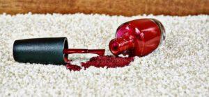 Лак на ковре