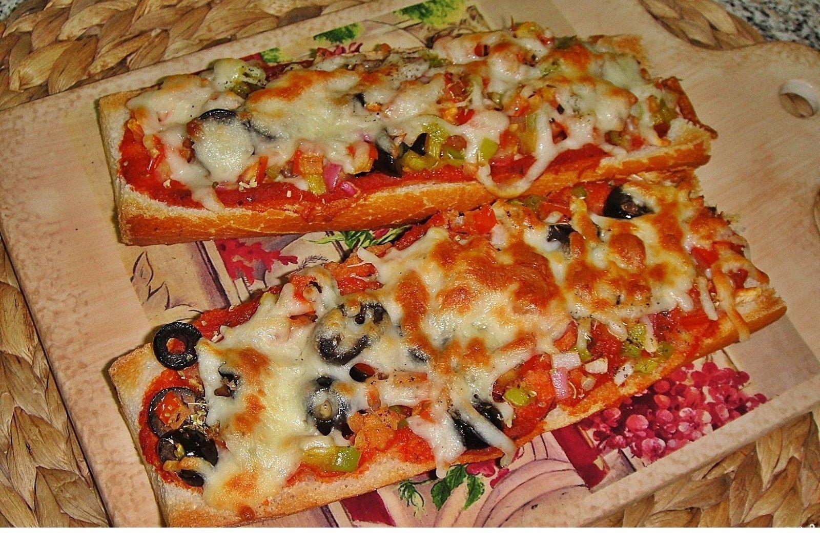 как приготовить пиццу из подручных средств