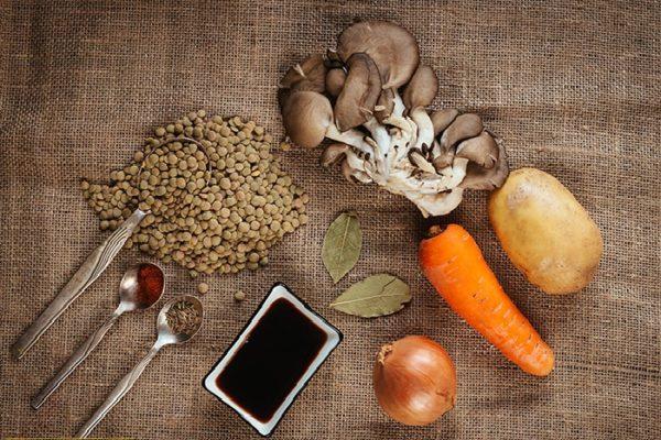 продукты для чечевичных котлет