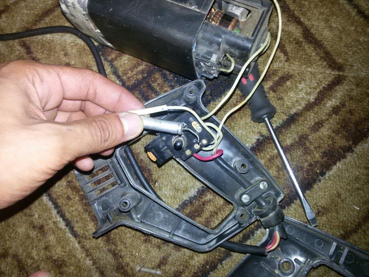 Схема ремонта дрели