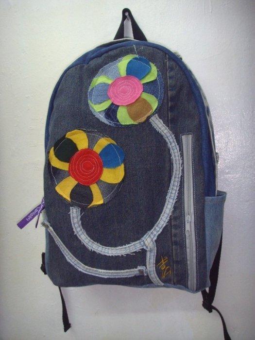 cb3131a47b89 Как сшить рюкзак из старых джинсов своими руками (в том числе ...