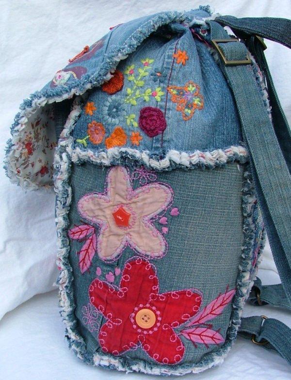 rjukzak-s-applikaciej-600x784 Яркий рюкзак из старых джинсов