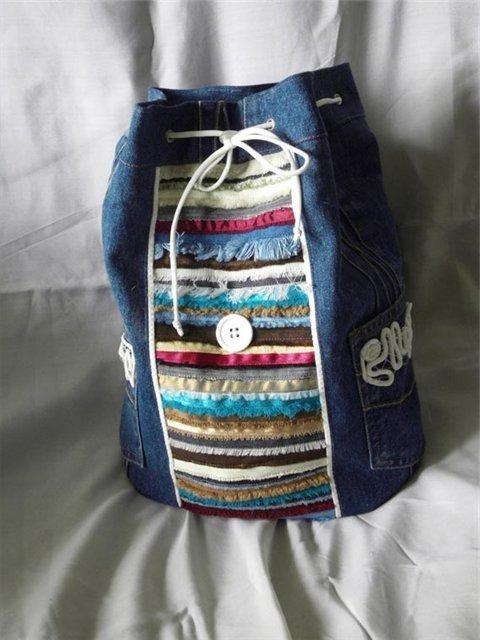 Рюкзак 'Старые лоскутки'