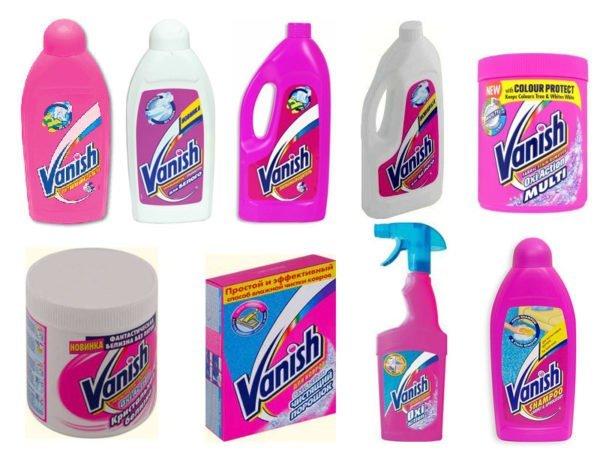 Пятновыводитель «Ваниш»