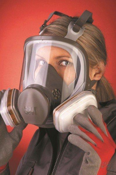 Полнолицевая маска с респиратором