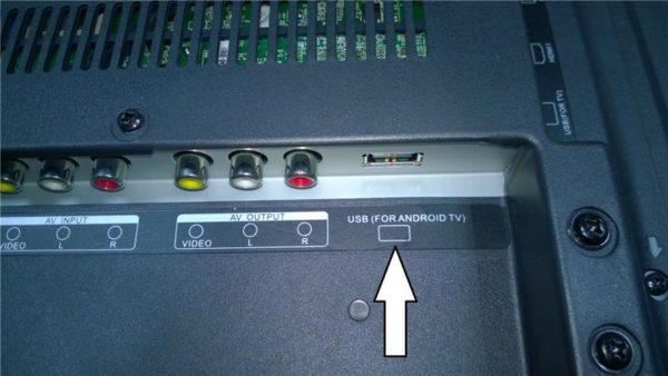 USB-порт для подключения мышки и клавиатуры