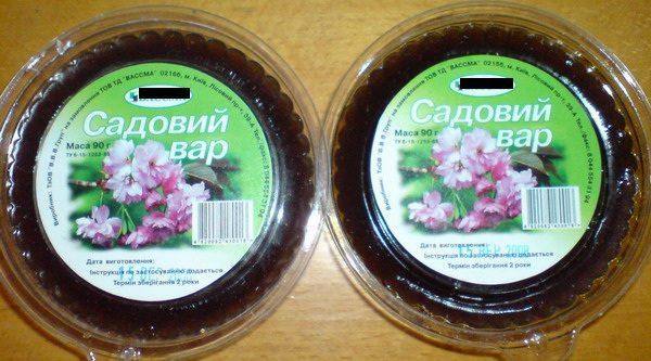 Готовая смесь «Садовый вар»
