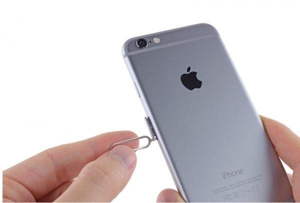 SIM-карта в iPhone