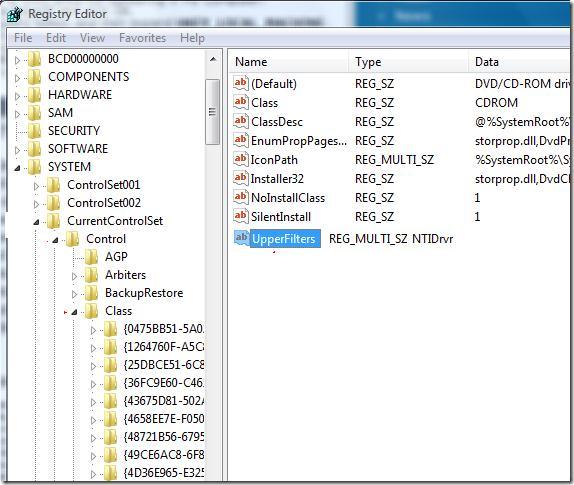 Удаление из реестра следов работы стороннего ПО управления дисками